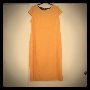 Yellow bandage style dress